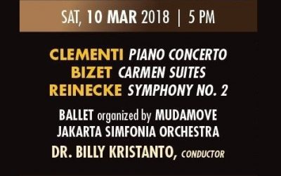 Clementi, Bizet & Reinecke – Aula Simfonia Jakarta