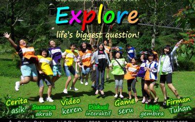 Grup Explorasi Remaja SMP & SMA