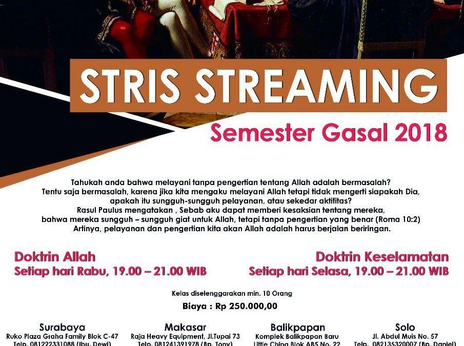 STRIS Streaming Semestar Gasal 2018