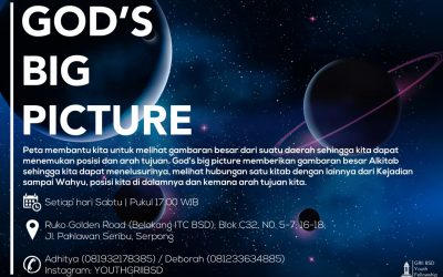 Youth GRII BSD: God's Big Picture