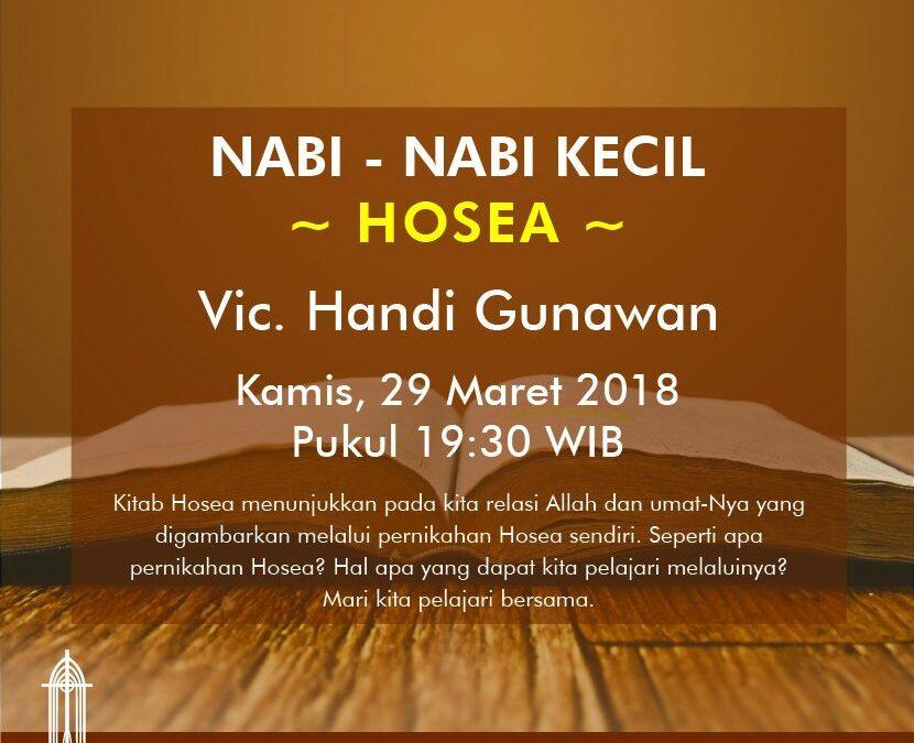 Pemahaman Alkitab Nabi-nabi Kecil: Hosea