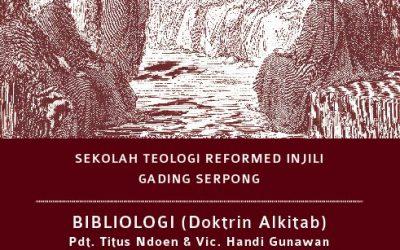 STRI Gading Serpong: Bibliology (Doktrin Alkitab)